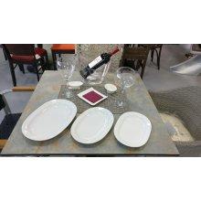 Fuente Oval 25cm Blanco PAFT1003 EFG (Caja 6 uds)