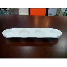 Bandeja de 4 Bowls de 31x9x3cm B2600 VIEJO VALLE (1 ud)