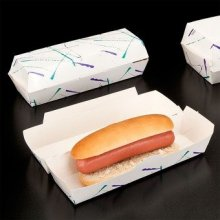 "Pack 50 uds Concha de ""Hot dog"" 23,5x9x6cm 144.67 GDP (1 pack)"