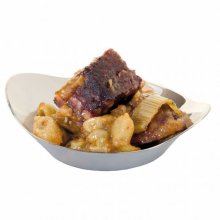 "Pack 50 uds Recipientes Tapas ""Plato orejas"" 30ml 8x2cm Plateado 157.24 GDP (1 pack)"