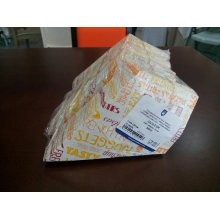 "Pack 200 uds Cucuruchos Fritas 100g ""Parole"" 230g/m2 22x12,5cm Blanco Cartoncillo 229.54 GDP (1 pack)"
