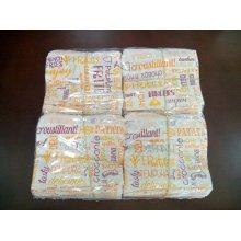 "Pack 1000 uds Bolsa Antigrasa para Fritas ""Parole"" 34g/m2 12x9cm Blanco 229.28 GDP (1 pack)"