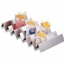Clasificador para Bolsas de patatas fritas 47x25x5'5cm Plateado Metal 143.25 GDP (OUTLET LIQUIDACIÓN) (1 ud)