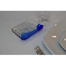 Bandeja Murano Cobalto 12,5x9cm B942004 VIEJO VALLE (Caja 48 uds)