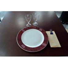Bajo Plato Rubi Porcelana 30cm IEKR1005 EFG (Caja 6 uds)