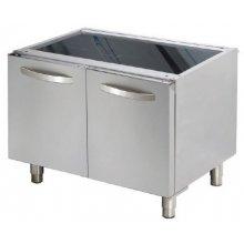 Mueble soporte con puertas 800x610x630h mm D722 ARISCO