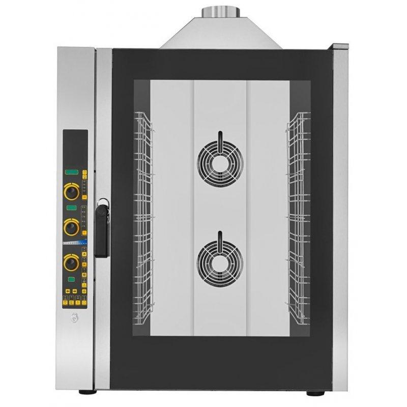 Horno de gas electr nico 11 bandejas gn1 1 ekf1111geud for Hornos de vapor industriales precios