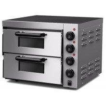 Horno Eléctrico para 2 Pizzas Compacto de 560x570x440h mm para 2 Pizzas PDK40