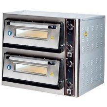Horno Eléctrico de Pizza de 300mm de Diámetro de 1200x820x440h mm para 6 Pizza LZ3006 ARISCO (OUTLET)