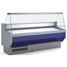 Vitrina Refrigerada DOCRILUC Cristal Recto Fondo 800 de 1055 x800 x1230h mm VED-8-10-R