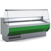 Vitrina Refrigerada DOCRILUC CON RESERVA Cristal Recto Fondo 940 de 1525 x800 x1230h mm VED-9-15-R