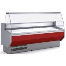 Vitrina Refrigerada DOCRILUC CON RESERVA Cristal Curvo Fondo 940 de 2025 x800 x1230h mm VED-9-20-C