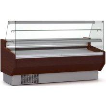 Vitrina Refrigerada DOCRILUC Pastelería Cristal Doble Recto Fondo 940 de 1055 x940 x1295h mm VEPD-9-10-RR