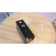 Porta Conos Helado Metacrilato Transparente 4mm 25x10x9cm 2.6cm 0550.TRANSP Alexalo (1 ud)