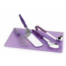 Tabla de Corte Antialergico 30,5x45.7x1,7 cm 5200080 Set Violet Pujadas (1ud)